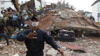 El drama de un neuquino en Mexico: Corría mientras caían edificios