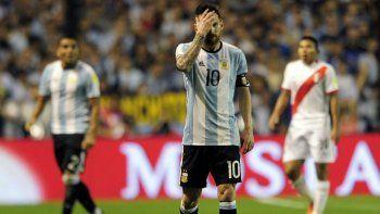 El milagro no llegó y Argentina empató sin goles con Perú