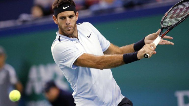 Juan Martín del Potro cayó ante Roger Federer en la semifinal