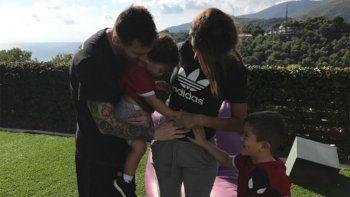 Messi y Antonella confirmaron que serán papás por tercera vez