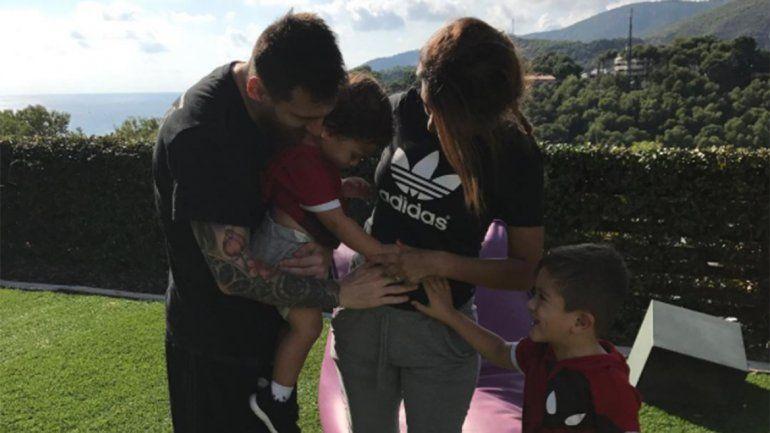 Messi y Antonella confirmaron que serán papás otra vez