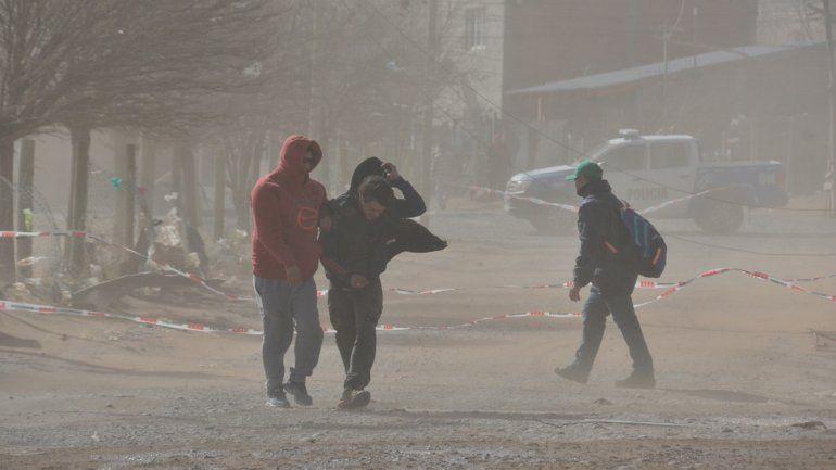 Alerta por fuertes vientos en la región con ráfagas de hasta 80 km/h