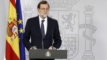 El gobierno español anunció que intervendrá Cataluña