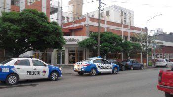 Un hombre se quiso prender fuego en la guardia del Castro Rendón
