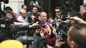 Sergio Maldonado confirmó que el cuerpo hallado en el río Chubut es Santiago