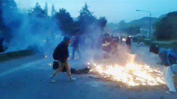 Incidentes en el Bolsón