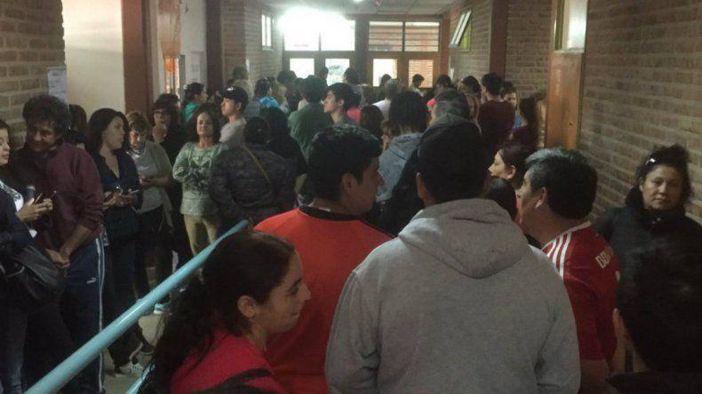 Todavía falta votar mucha gente en Neuquén