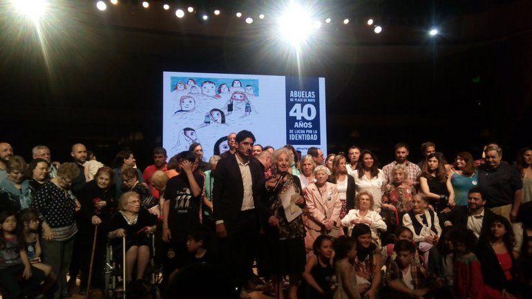 Abuelas de Plaza de Mayo anunció la recuperación del nieto 125