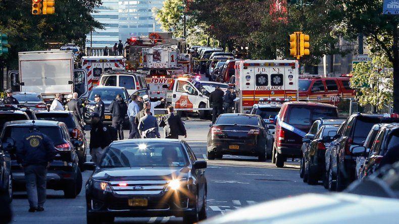 Al menos ocho personas muertas al ser atropelladas en Manhattan