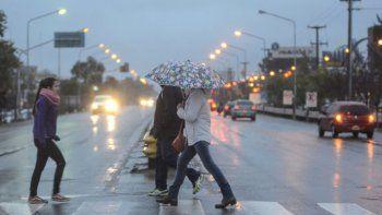 La semana empieza con algunas tormentas en el Alto Valle