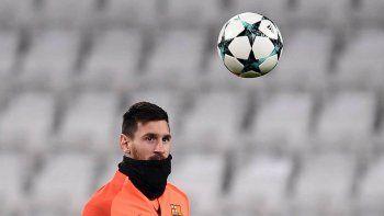 Juventus y Barcelona empatan 0-0 y Messi entró en el segundo tiempo