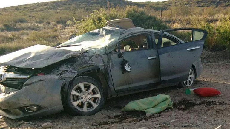 Se quedó dormido, perdió el control de su auto y murió cuando viajaba a Bariloche