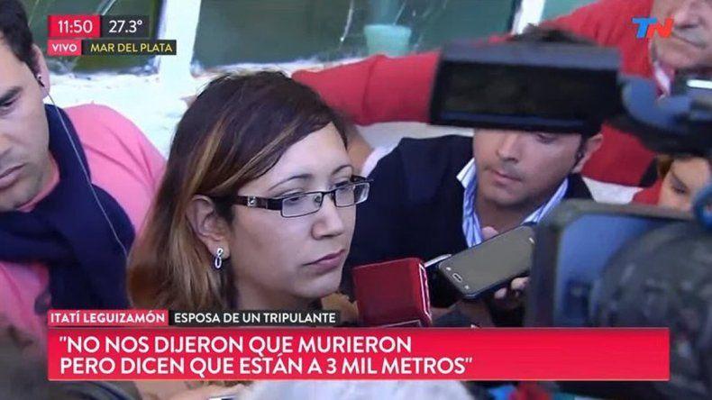 Itatí Leguizamón: Nos mintieron, están muertos hace rato
