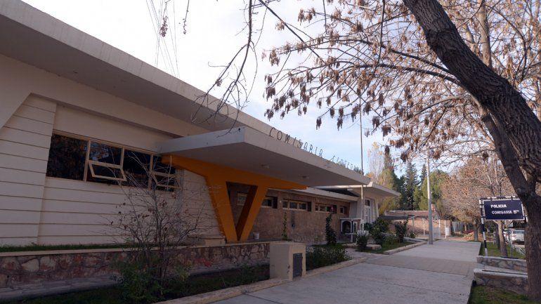 La Comisaría Quinta de Centenario tomó la denuncia por el secuestro.