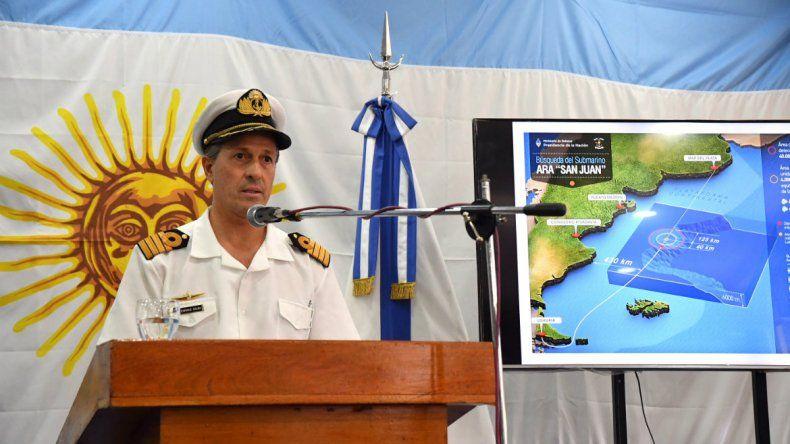 Detectan una imagen de sonar compatible con el ARA San Juan