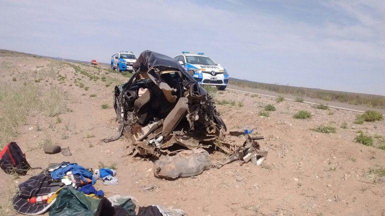 Un joven cipoleño chocó contra un camión en Piedra del Águila y está muy grave