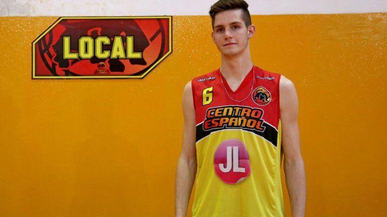 Dolor en el básquet regional: a los 22 años, falleció Franco Schmir