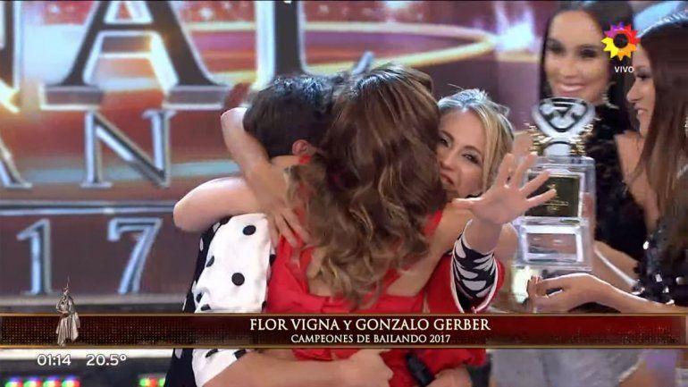 Flor Vigna volvió a ganar elBailando