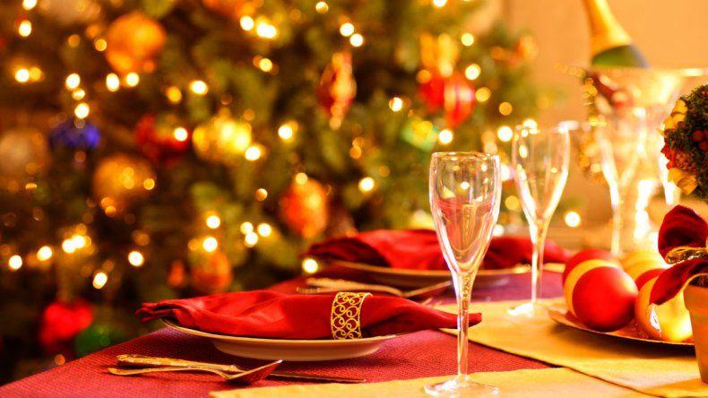 ¿Cena navideña adentro o en el patio? Así estará el clima