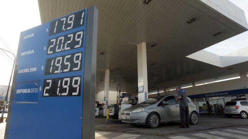 Podría volver a subir los precios de los combustibles