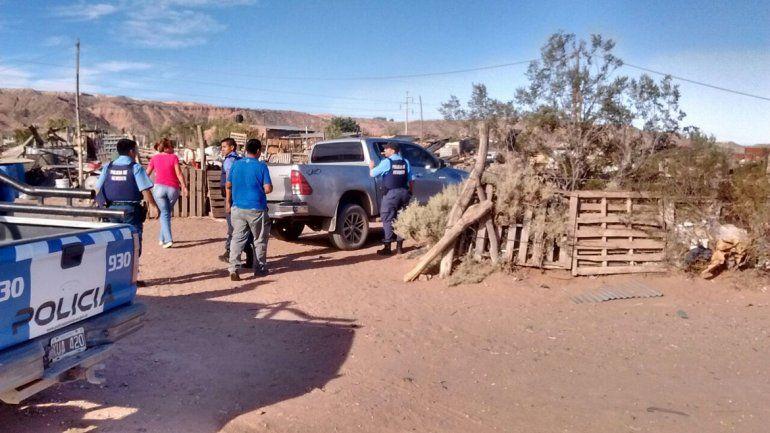 Luego de una persecución, hallan en Neuquén la camioneta robada en la estación de servicio