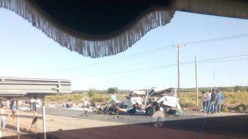 tres muertos tras un choque frontal sobre la ruta 7