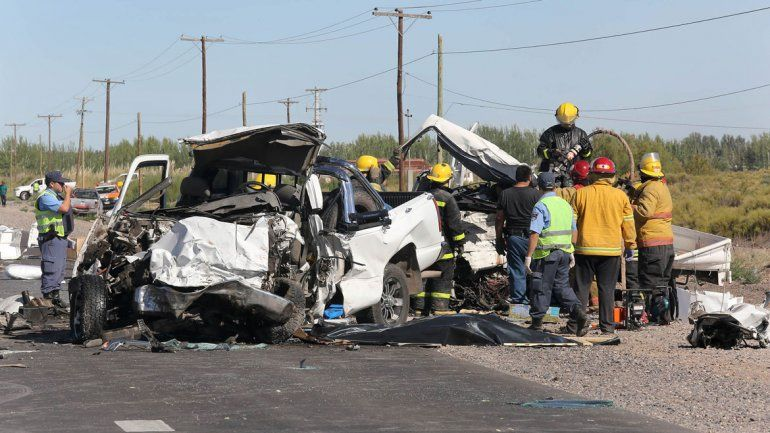 Hay un demorado por el choque frontal que causó tres muertes en la Ruta 7
