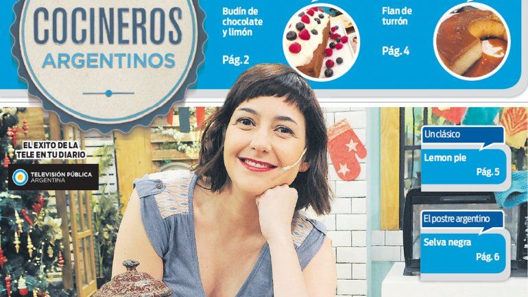 Ponele dulce al verano con las recetas de Cocineros Argentinos