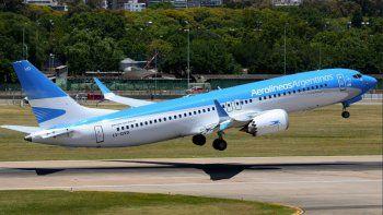 aerolineas suspende la venta de pasajes hasta el domingo