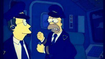 Homero fue el capitán de un vuelo de Aerolíneas