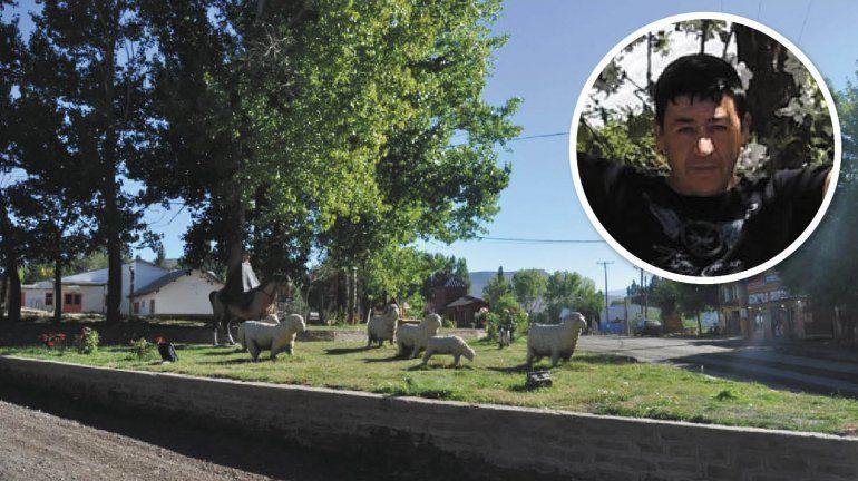 Los vecinos de Las Ovejas salieron a buscar al femicida a caballo