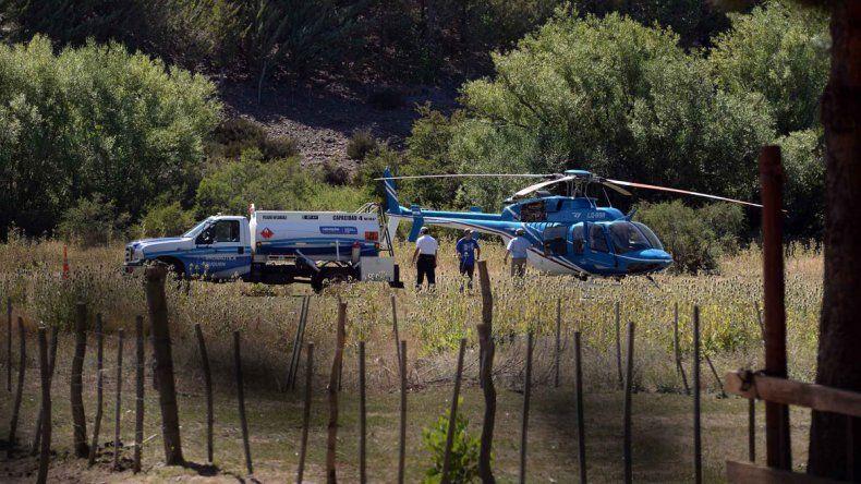 Rastrillan 5 mil hectáreas en la zona de frontera para dar con el femicida de Las Ovejas