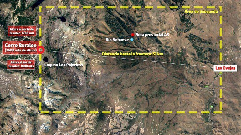 Buscan al asesino de Karina y Valentina en el límite con Chile