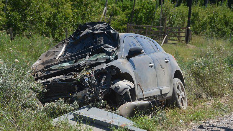 Un motociclista murió atropellado en la Ruta 7 en Centenario