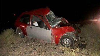 Dos hombres murieron en un choque frontal sobre la Ruta 22