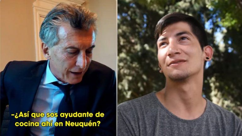 Escuchá la conversación entre Guillermo y Macri tras el honesto gesto