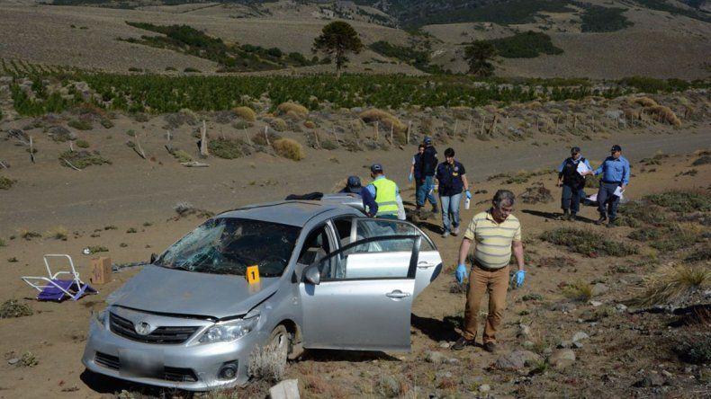 Trágico arranque del fin de semana XXL: una mujer murió tras un vuelco camino a Chile