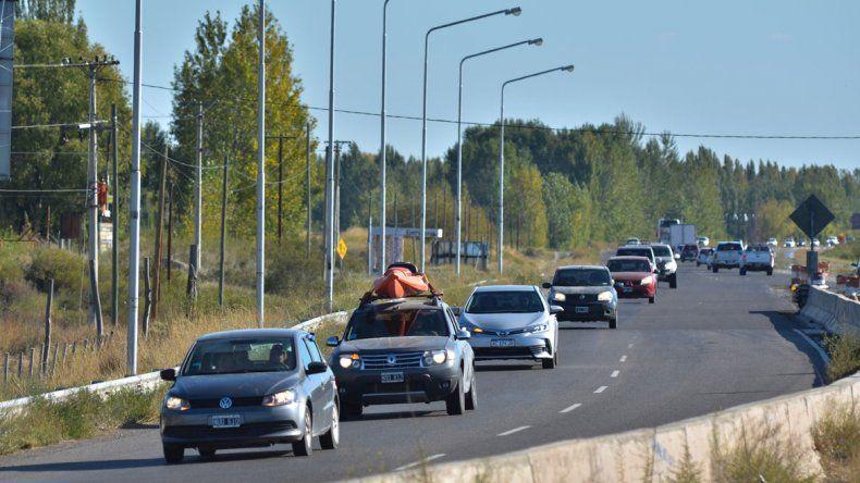 Tras el descanso, llegó el estrés de transitar entre miles de vehículos