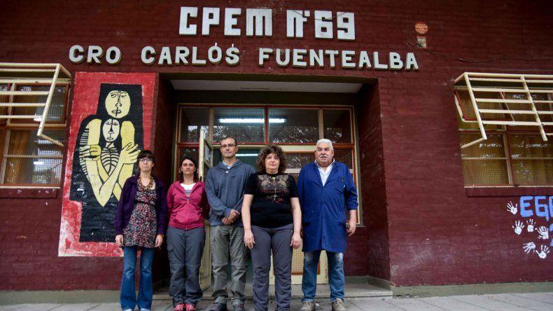 Una escuela que heredó la energía de Carlos