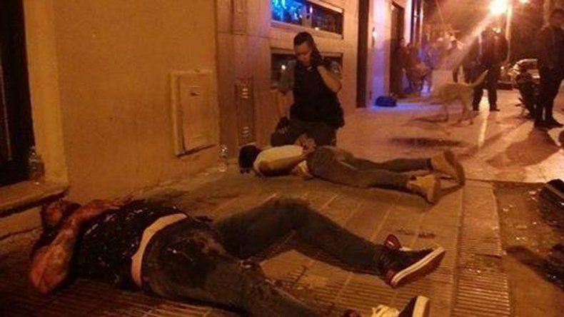 Noche violenta: otra pelea terminó con un joven hospitalizado