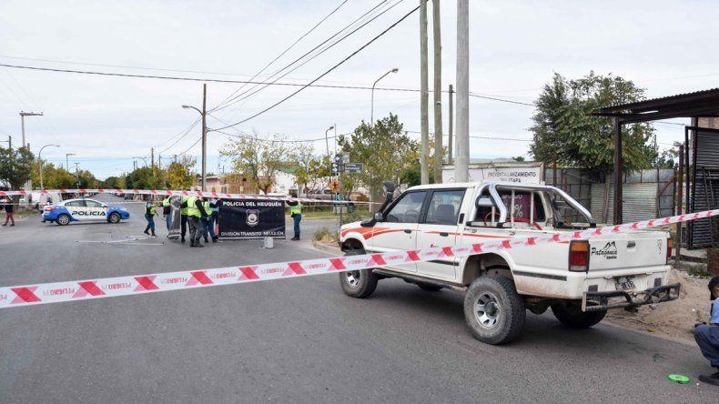 Una mujer de 79 años murió atropellada en Neuquén