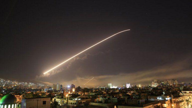 Trump ordenó bombardear Siria en un plan conjunto con Francia y Reino Unido copy