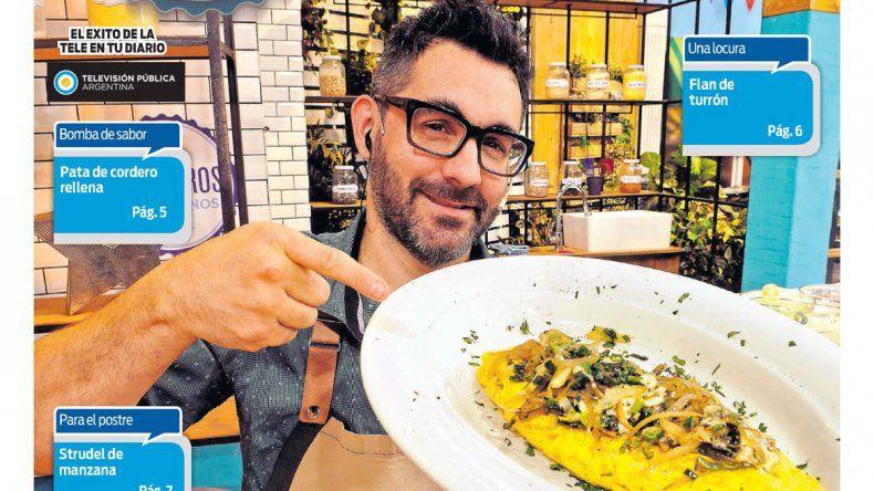 Cocineros Argentinos te enseña a hacer unos impresionantes omelettes