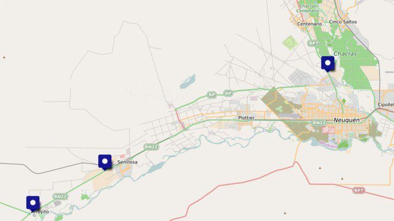 Transitar por Neuquén será un caos: mirá todos los cortes de ruta que habrá