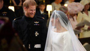 boda real: el principe harry y la actriz meghan markle dieron el si