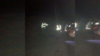 Dos policías murieron en un choque frontal en la Ruta 22