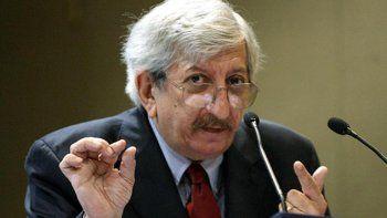 A los 74 años murió el ex canciller Dante Caputo
