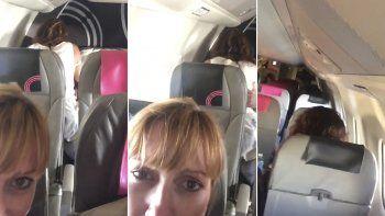 Una pareja tuvo sexo en un avión y ¡hay video!