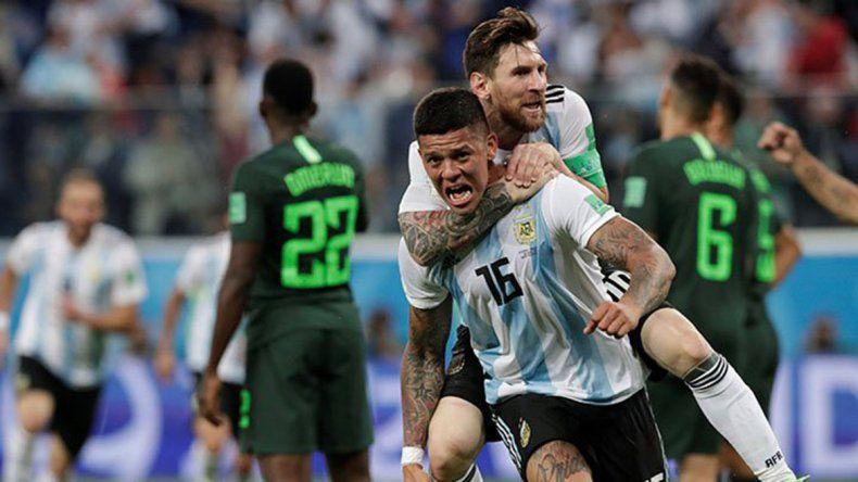 Con el corazón en la mano: Argentina clasificó a los octavos de final y va por Francia