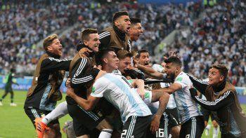 Argentina empata 1 a 1 con Francia